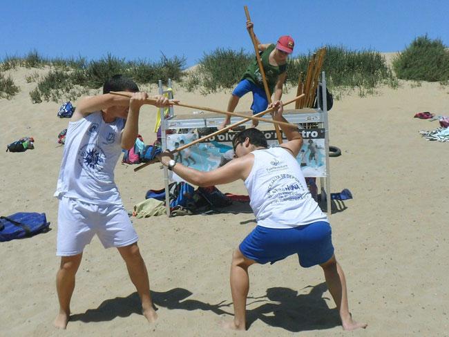 Los juegos y deportes tradicionales estuvieron presentes en el Sol y Luna