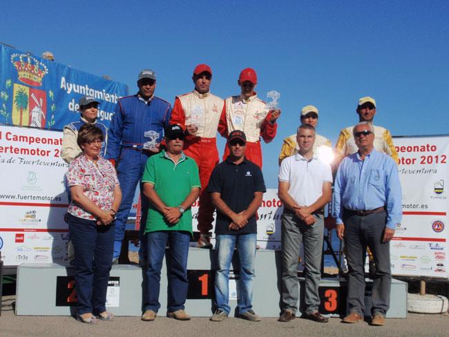 Gustavo Sosa y Rogelio Peñate ganan con contundencia la primera prueba del Campeonato FuerteMotor-Isla de Fuerteventura