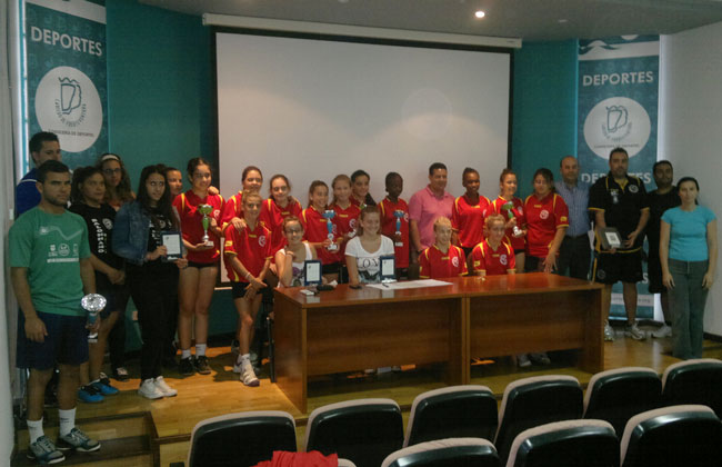 La Federación Insular de Balonmano de Fuerteventura,  clausura la temporada