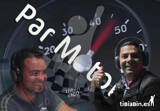 Manuel Gutiérrez y Francisco Cabrera hoy miércoles en Parmotor