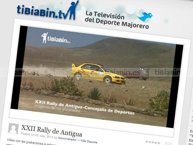 Fotos y vídeos de los aficionados durante el Rally de Antigua