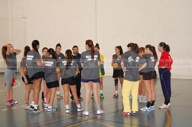La selección Canaria juvenil femenina, se concentró en Morro Jable