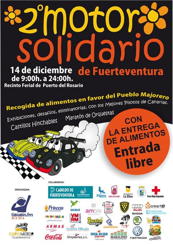 Este sábado 14 de diciembre, 2º Motor solidario de Fuerteventura