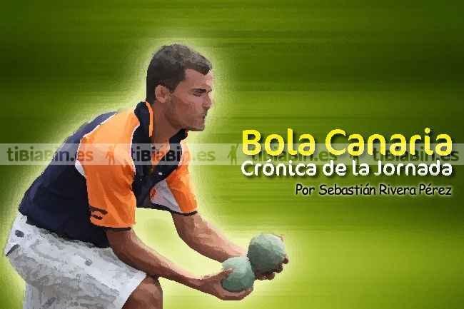 Crónica 8ª jornada Bola Canaria