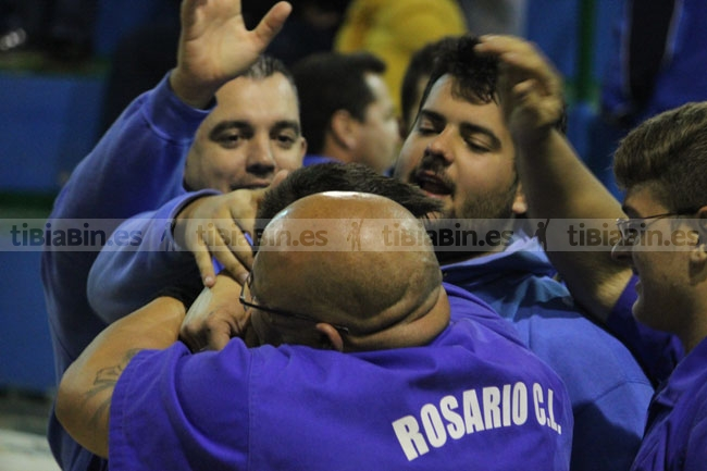 El Rosario pasa a semifinales tras vencer al Tetir en la luchada de desempate