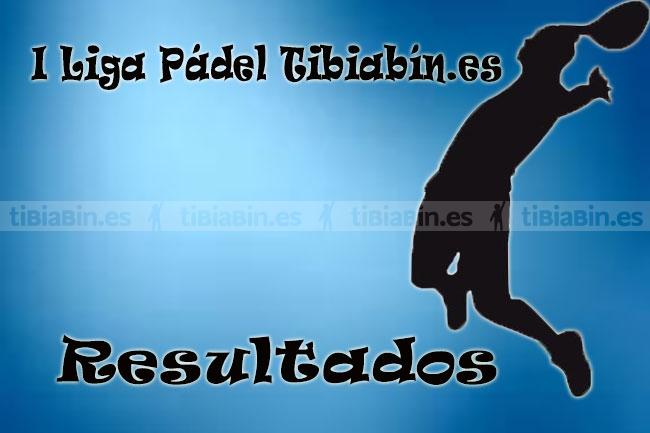 Resultados I Liga Pádel Tibiabin.es (Luchi y Nelson brillantes ganadores)