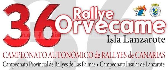 5 y 6 de diciembre, nueva fecha para el Rallye Orvecame-Isla de Lanzarote
