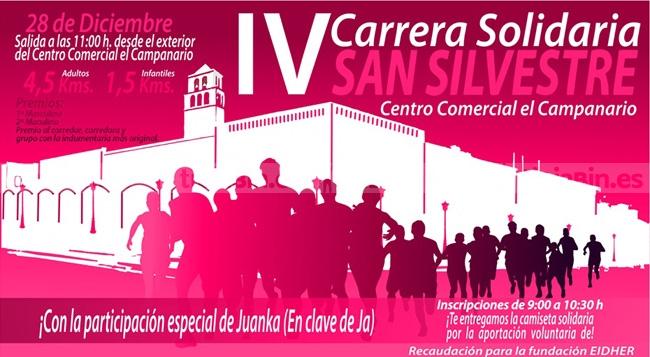 IV Carrera Solidaria San Silvestre  Centro Comercial El Campanario