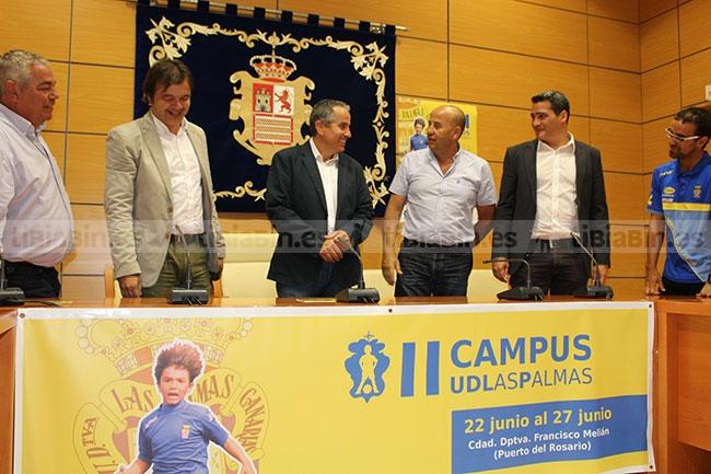 La UD Las Palmas celebra su segundo campus en Fuerteventura del 22 al 27 de junio