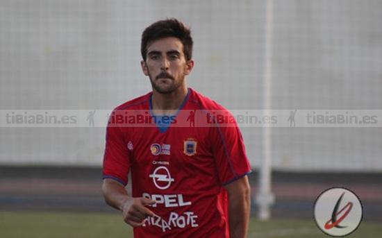El lateral Jesús Ramos causa baja en la plantilla de la UD Lanzarote
