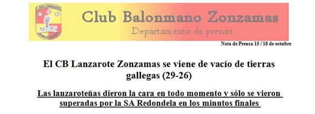 El C.B. Lanzarote Zonzamas se viene de vacío de tierras gallegas