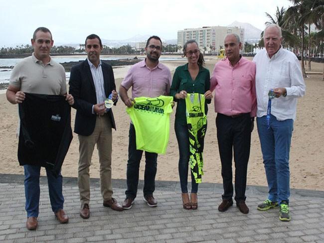 Más de 400 triatletas participan el sábado en el VI Ocean Lava Lanzarote Triathlon