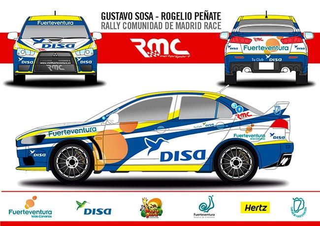 Gustavo Sosa, en terreno desconocido en el Rally Comunidad de Madrid RACE