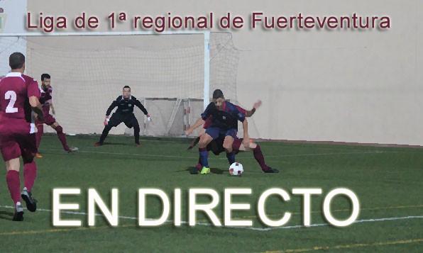 ¡3ª Jornada de Liga en 1ª Regional en directo!