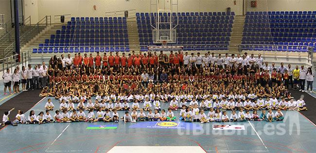 El CD Magec Tías presenta a todos sus equipos de la temporada 2015/2016