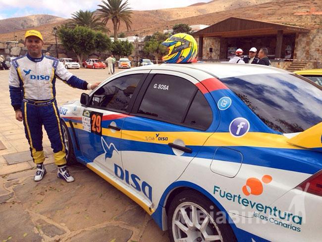 Gustavo Sosa despide la temporada en Portugal con el Rally Vila de Ourique