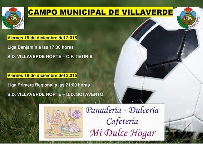 Cartel S.D. Villaverde Norte