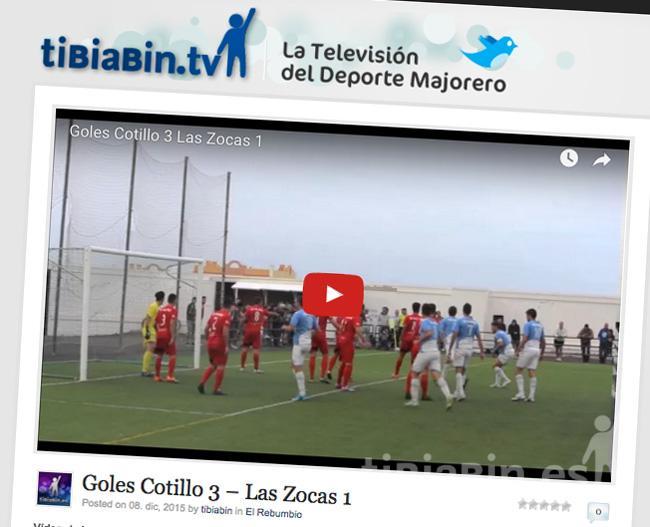 Vídeo Goles Cotillo 3 – Las Zocas 1