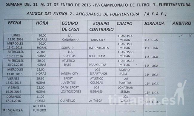 Resultados Ida Copa Respeto y Próxima Jornada del IV Campeonato F7