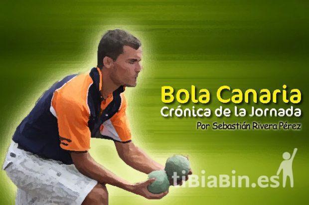 Resultados y clasificaciones Bola Canaria (2ª jornada)