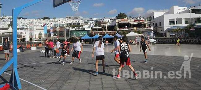 El CD Magec Tías organizó un Torneo 3×3 en Puerto del Carmen