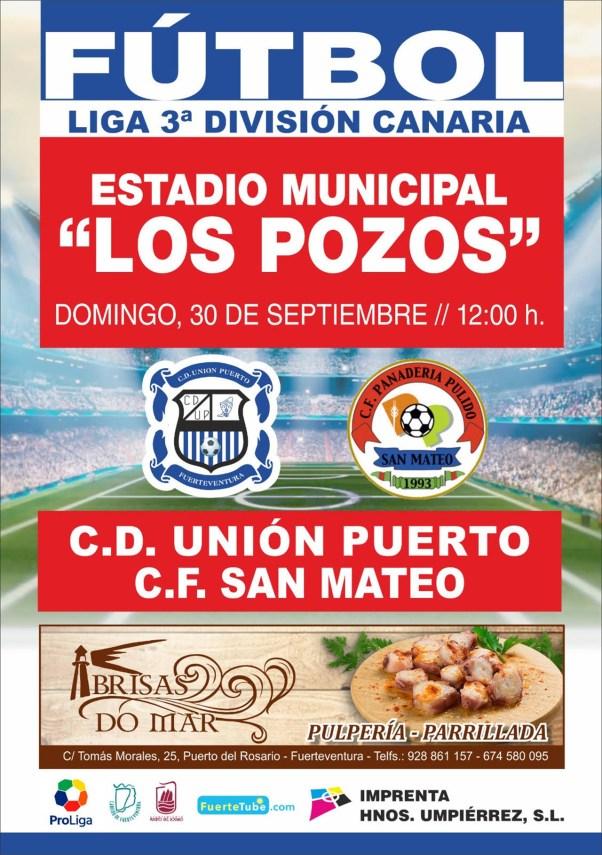 Cartel Unión Puerto – San Mateo