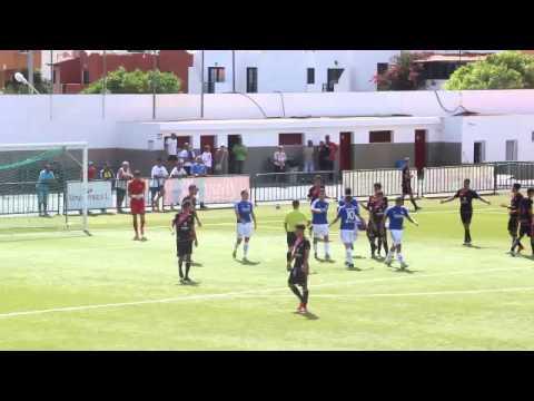 Gol del Unión Puerto 1 – Tenerife B 0