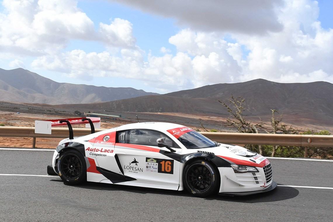Luis Monzón y su Audi R8 LMS vuelven a triunfar en la Subida de Betancuria – Trofeo Naviera Armas