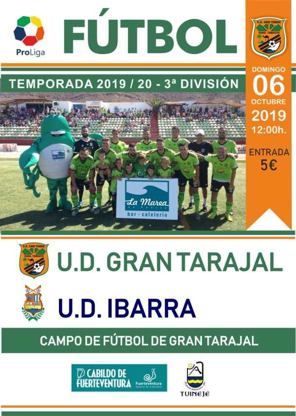 Cartel UD Gran Tarajal – UD Ibarra