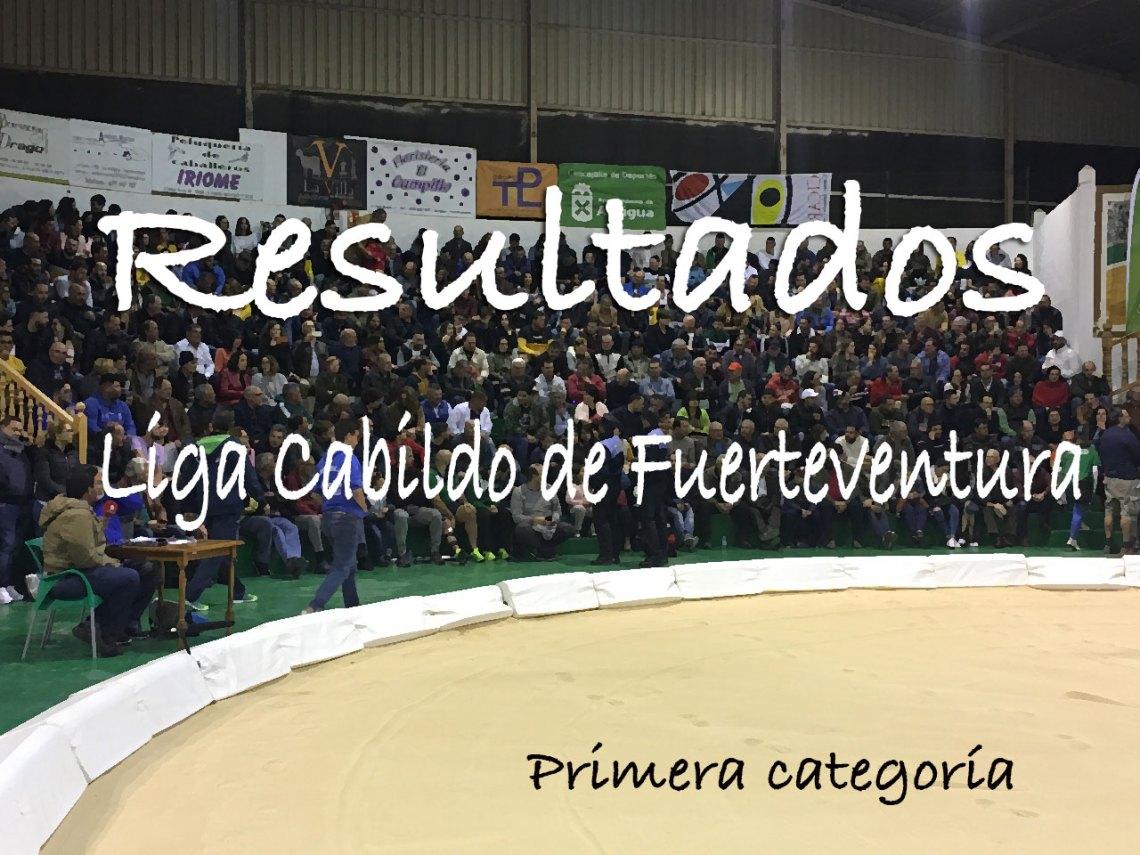 Resultados Lucha Canaria