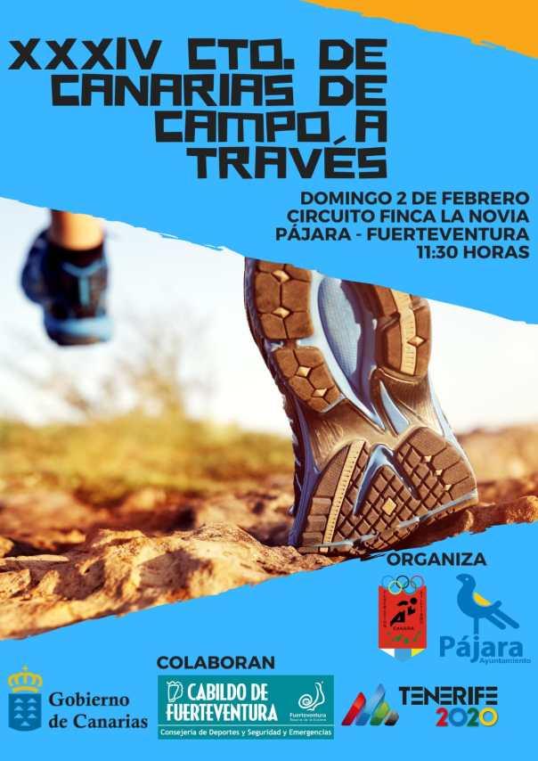 Pájara acoge el XXXIV cpto. de Canarias de cross