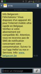 SMS 4G