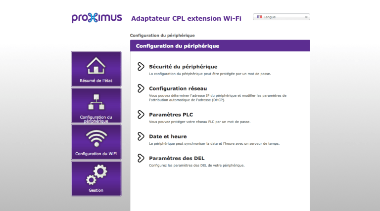 extender wifi configuration