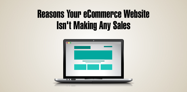 Reasons Your eCommerce Website Isn't Making Any Sales