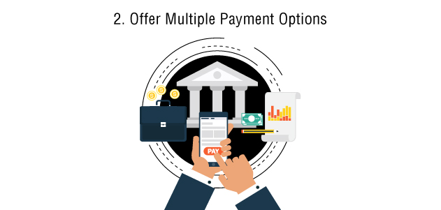 Offer Multiple Payment Options