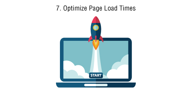 Page load time,