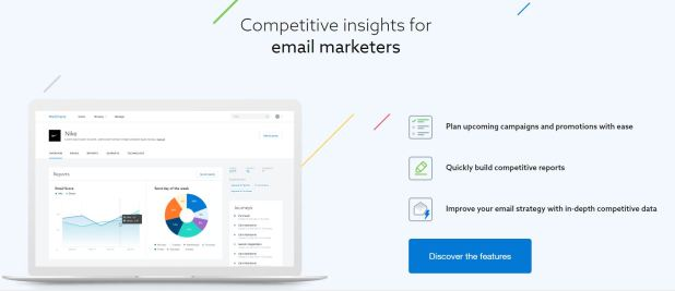 mail charts to keep watch on competition email campaigns