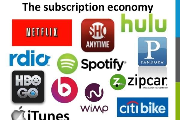 Groei en bloei van de abonnementen-economie