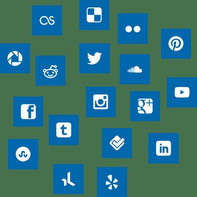 Mar de redes sociales