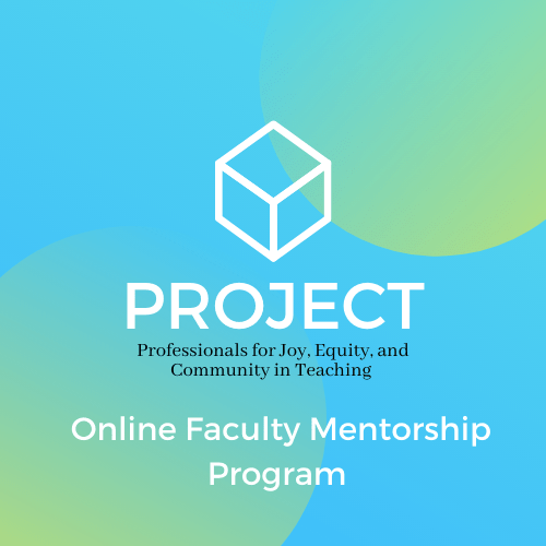 Project Online Faculty Mentorship Program logo