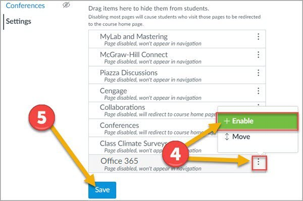 Office 365 step 4 and 5