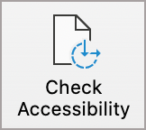 PowerPoint Check Accessibility button.