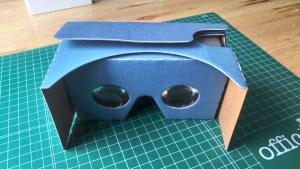 Visor VR de cartón