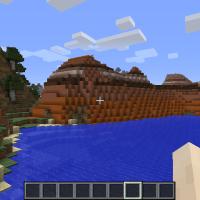Captura jugando a Minecraft