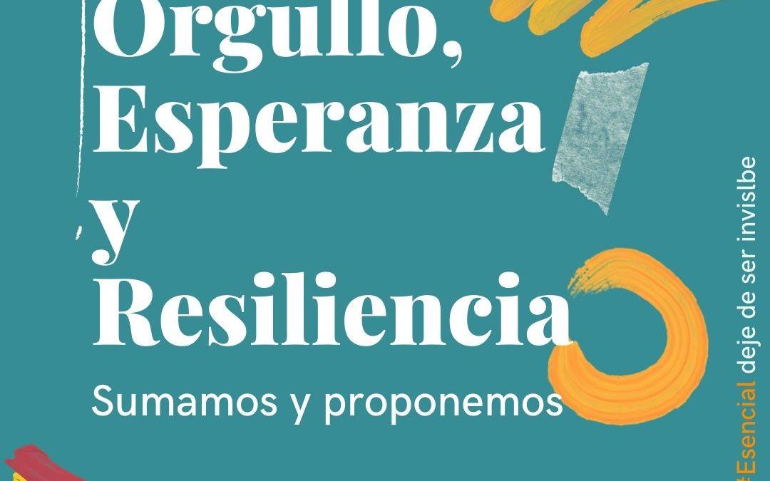 Orgullo, esperanza y resiliencia: apoyo mutuo y protección de los derechos de la comunidad LGTBI