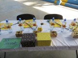 spelling bee table