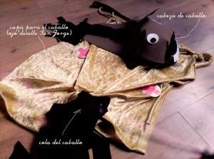 disfraz Caballo