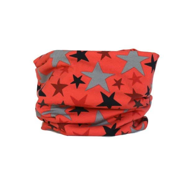 Cuello braga Estrellas Coral