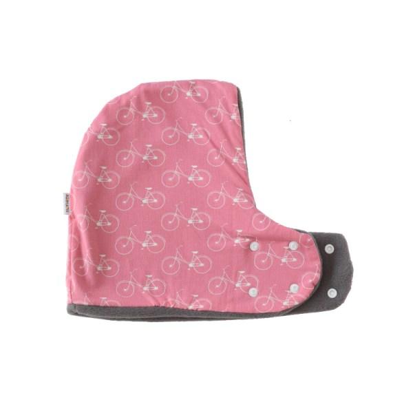 Gorro bufanda de Bicicletas en rosa