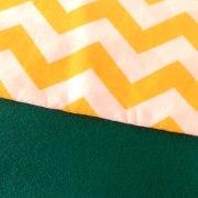 Combinación Verde y zigzag grande